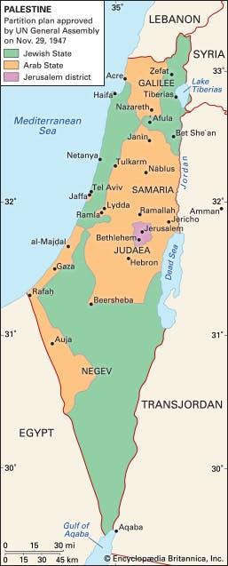Der Israel Palastina Konflikt Verstandlich Erklart