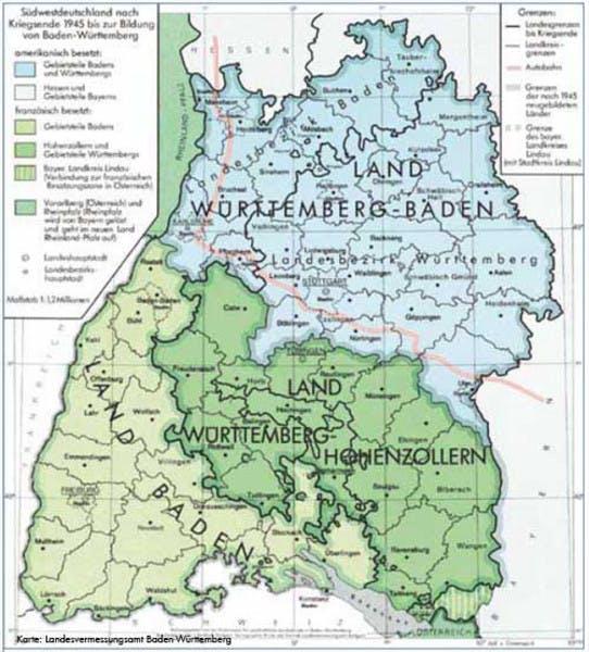 Schwaben Karte Deutschland.Die Rivalität Zwischen Badnern Und Schwaben Verständlich Erklärt