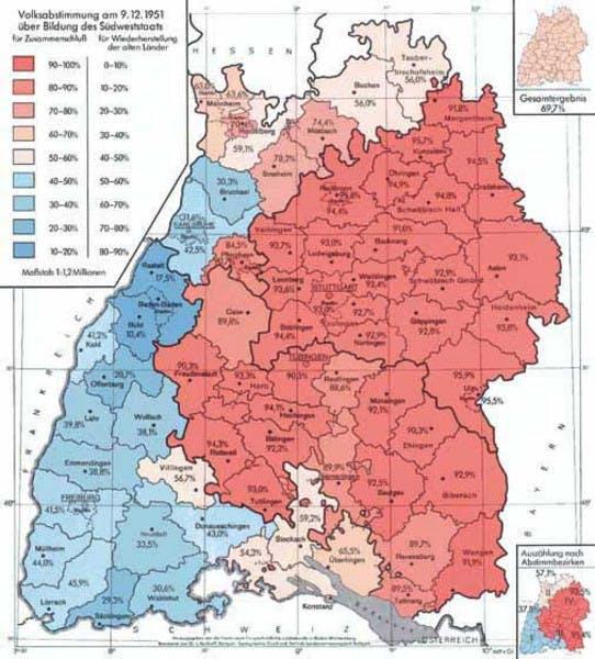Schwaben Karte.Die Rivalität Zwischen Badnern Und Schwaben Verständlich Erklärt